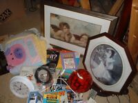 JOBLOT OF ITEMS IDEAL FOR A CARBOOT