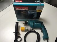 Brand New in the box MAKITA HP1640 110v Percussion drill 16mm keyed chuck.RRP £71