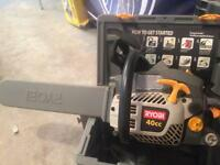 Ryobi 40 cc chainsaw for sale
