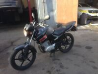 yamaha ybr 125 2012 new shape