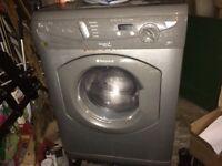 Hotpoint Aquarius+ graphite WD640 washing machine/ dryer