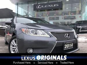 2014 Lexus ES 350 Leather and Navigation Pkg Navigation Backup C
