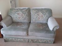 used 2 seat Sofa and 2 chairs