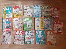 19 x viz comics 80s -90s