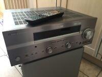 Yamaha Amplifier and Mordaunt-Short Surround Sound Speakers