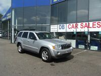2008 08 JEEP GRAND CHEROKEE 3.0 V6 CRD LIMITED 5D AUTO 215 BHP **** GUARANTEED FINANCE ****