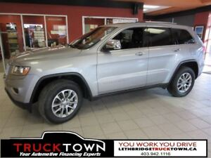 2014 Jeep Grand Cherokee LIMITED-HEATED LEATHER