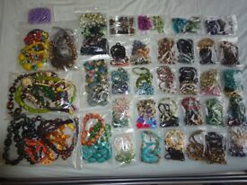 Job lot of retro vintage costume jewellery. Great quality and condition.