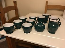 Denby Greenwich tea set