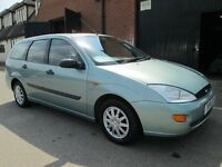 FORD FOCUS ESTATE MANUAL PETROL IMMACULATE Part exchange available / Credit & Debit cards accepted