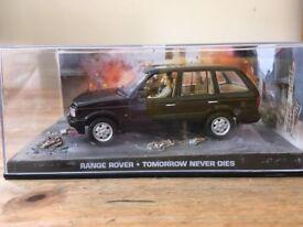 1:43 Range Rover - JAMES BOND COLLECTION - Tomorrow Never Dies - FABBRI
