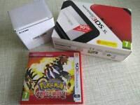 Nintendo 3DS XL Red/Black