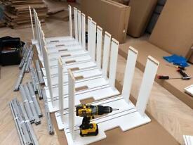Flat Pack,Flatpack Furniture Assembly ,ikea furniture ,eBay,Argos,John Lewis.PAX wardrobe experts