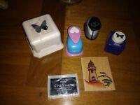 Card making craft supplies