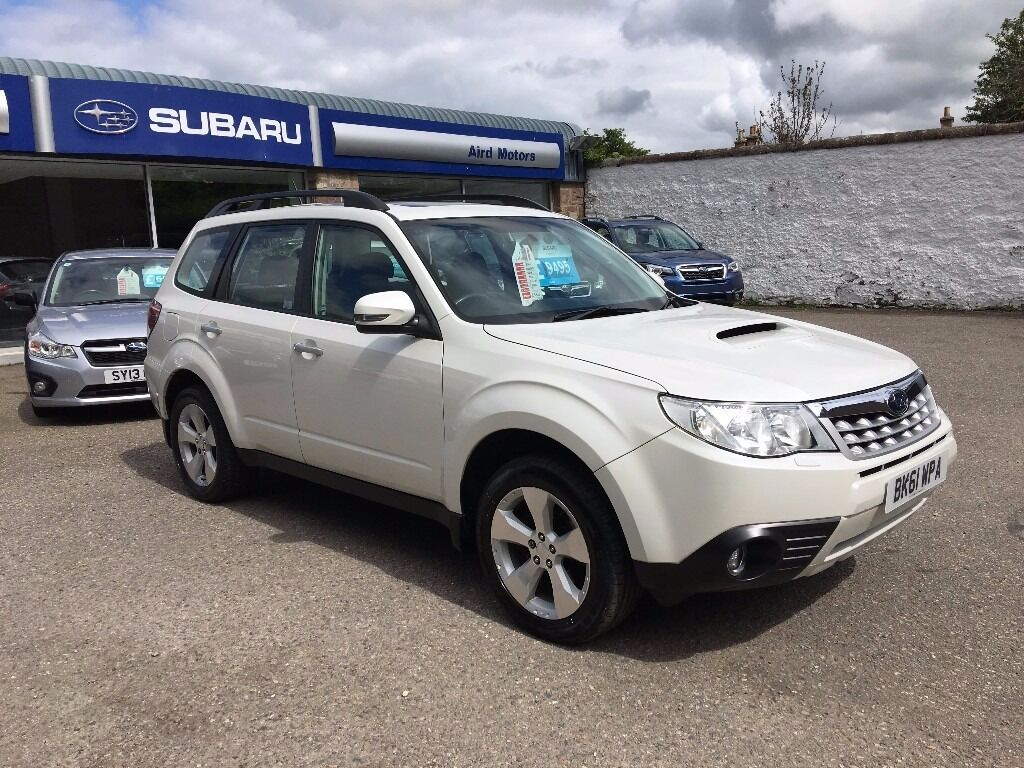All Types 2011 forester : 2011 Subaru Forester 2.0 Diesel XC Manual White Lovely Condition ...