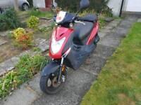 Kymco Agility 50cc scooter
