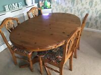 Dining table & chairs DUCAL if gone today £60