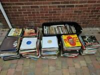 Records job lot approx 700