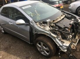 HONDA CIVIC TYPE 2.2 DIESEL 5 DOORS-2006- 2010 WHEEL NUT BREAKING/ SPARES SILVER