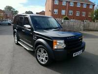 2008 LANDROVER DISCOVERY 2.7 TDV6 GS AUTOMATIC 7 SEATER BLACK 12 MONTHS MOT TIDY JEEP