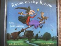Audio book CD Room on the Broom by Julia Donaldson Alex Scheffler Read by Josie Lawrence car journey