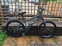 Kona Shred jump mountain bike - continental gravity hardtail mtb - RRP £699.99