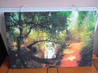 Scenic nature canvas