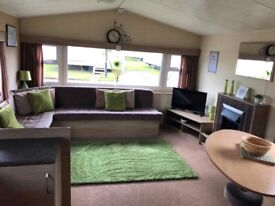 Gold rated caravan to hire