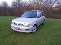 2002 NISSAN MICRA 1.0 16v CD/ AUXILIARY PLAYER