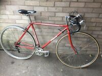 Vintage-Red Falcon Road Bike