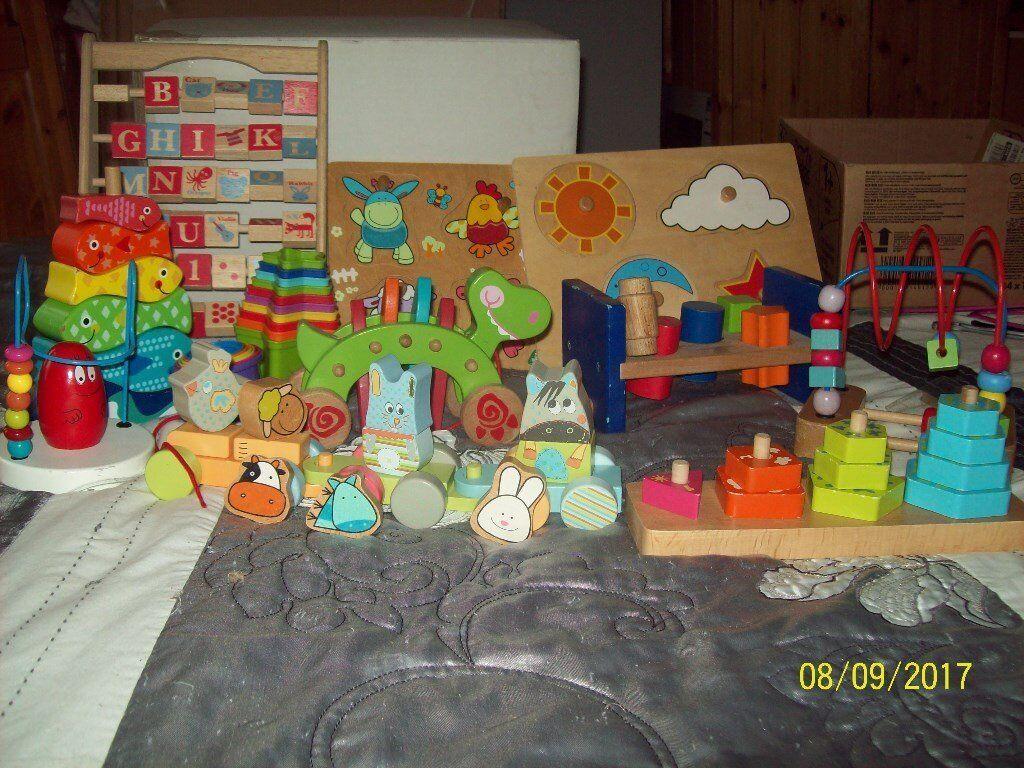 wooden preschool toys