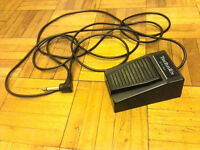 Technics SZ-P1 sustain pedal