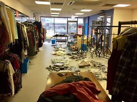 Clothing Shop Stock and Fitting for Sale