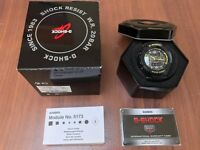CASIO G-SHOCK GW-3500B-1AER SOLAR POWERED WATCH FULLY BOXED WITH INSTRUCTIONS