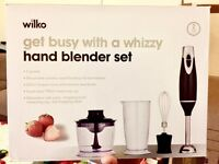 Wilko Hand Blender Set