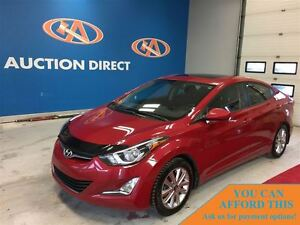 2015 Hyundai Elantra SPORT, SUNROOF, HEATED SEATS, BLUETOOTH, FI