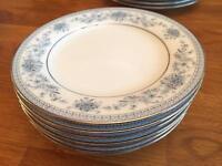 "Noritake Blue Hill 6"" plates"