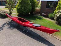 Kayak for sale - Wilderness Systems Zephyr 155 (+ spraydeck + cockpit cover)