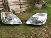 Ford Fiesta head lights mk6