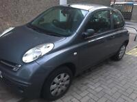 Nissan Micra Grey 2005/06 Place, Solid Car, £550