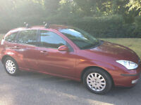 FORD FOCUS GHIA 2003 -STUNNING CLEAN NICE DRIVING CAR-LONG MOT-SERVICE HISTORY-WE CAN DELIVER TO YOU