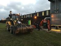 Plant hire Groundworks landscaping