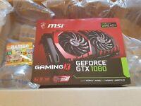 Nvidia 1080 MSI Gaming X Graphics Card