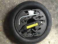 Bmw X5 & Audi a3 spare wheels& wind deflector