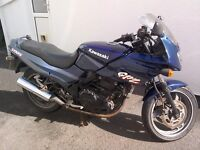 kawasaki gpz 500 for sale in good working order with v5 in my name and 2 sets of keys £600 ono