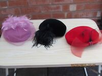 selection of formal hats