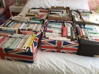 7 Boxes of Books
