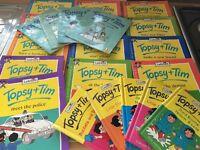 Topsy & Tim Books X 23