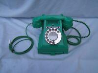 Old Bakelite telephones GPO