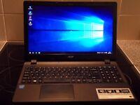 """Acer Aspire ES1 15.6"""" WiFi WebCam HDMI Intel DC 2.16GHz 4GB RAM 1TB HD DVDRW B/Tooth 7Hr Battery"""